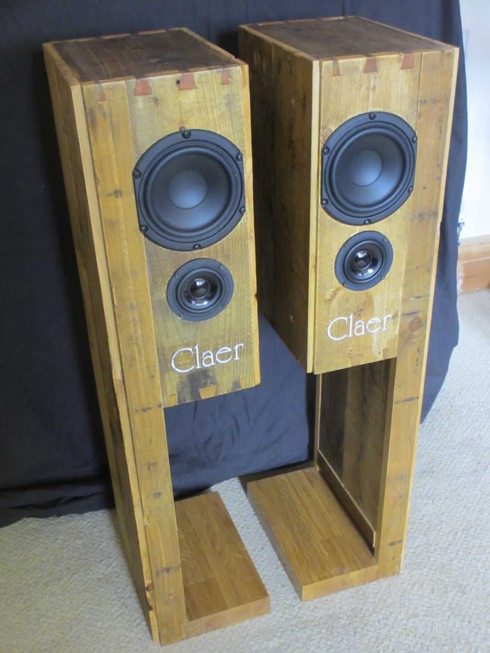 Claer 43 Claer Transmission Line Speaker Design