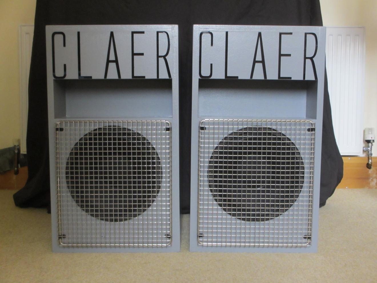 Claer PA2 - Claer - Transmission Line Speaker Design